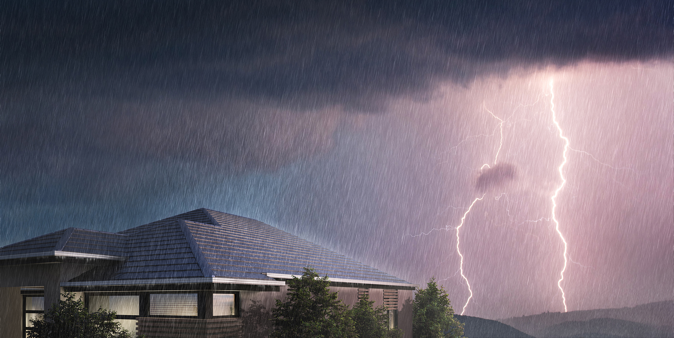 How tiles win in the war against storms
