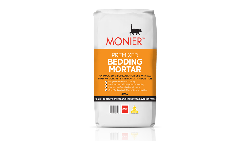 Premixed mortar